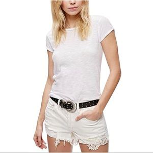 Free People Daisy Chain Lace Shorts